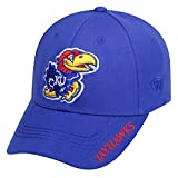 Top of the World NCAA-Premium Collection-One-Fit-Memory Fit-Hat Cap-Kansas Jayhawks