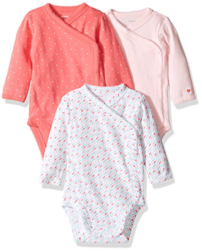 Carters Pack Side Snap Bodysuits