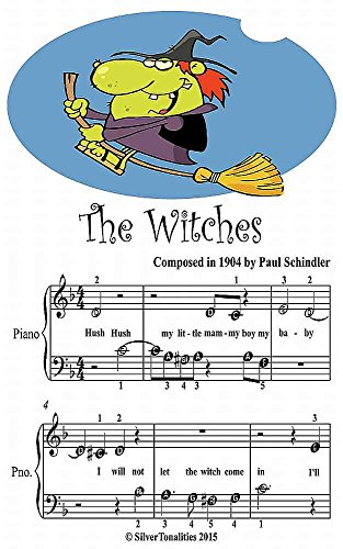The Witches Beginner Tots Piano Sheet Music