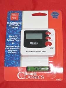 Electronic White Kitchen Timer