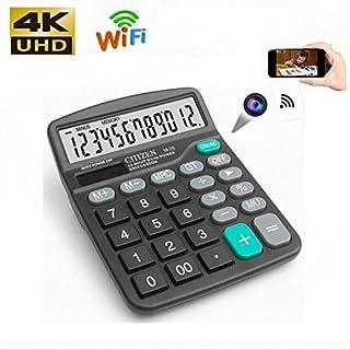 Calculator WiFi Camera, HD Hidden Camera Wireless Video Camera, Video Recorder Support Motion Detection