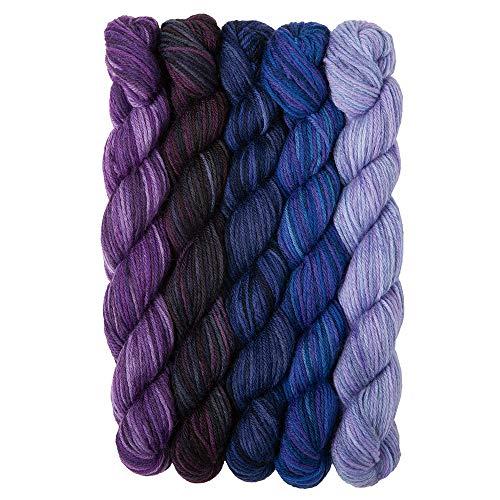 - Knit Picks Stroll Mini Packs Merino Sock Yarn (Moody Blues)