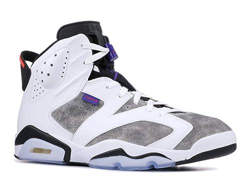 Nike Jordan Mens Retro 6 Leather Basketball Shoes
