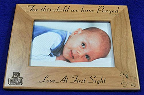 Amazoncom For This Child We Have Prayed Baby Picture Frames