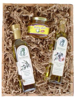 Image Unavailable. Image not available for. Color: Gourmet Olive Oil Gift Set ...
