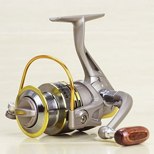 GS Serie 1000 – 7000 mejor calidad pesca Carretes Spinning ...