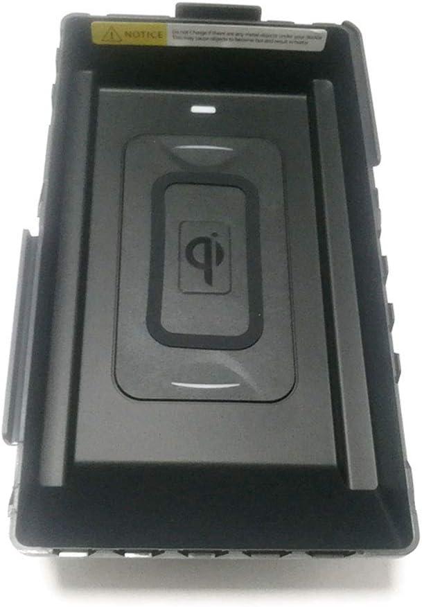 QQKLP Auto Qi Cargador inalámbrico para Skoda Kodiak 2017 2018 2019 Cargador de teléfono inalámbrico de Carga Accesorios Titular de teléfono de la Placa para el iPhon