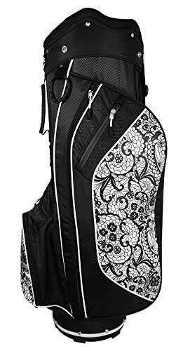 Hot-Z 2017 Golf 2.5 Cart Bag, Ladies Lace Womens Golf Cart Bag