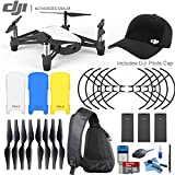 Ryze Tech DJI Tello Quadcopter Drone Power Bundle: Includes 2x Spare Batteries + DJI Pilots Hat and more.