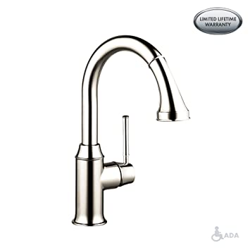 Hansgrohe 04215830 Talis C Higharc Single Hole Kitchen Faucet With