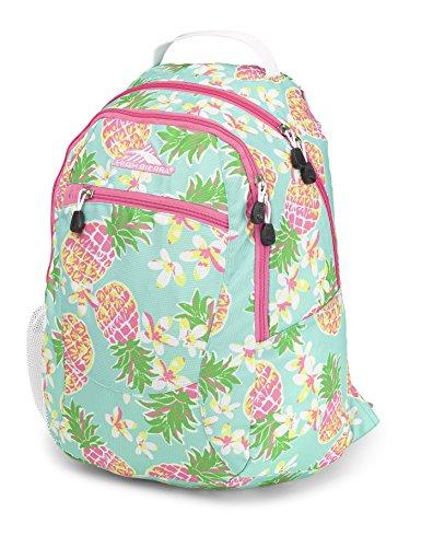 High Sierra Curve Backpack Pineapple Party Pink Lemonade