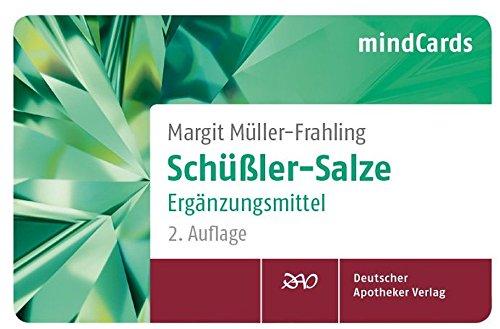 Schüßler-Salze Ergänzungsmittel: mindCards