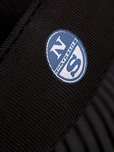 élasthanne North l'allure en hommes 46 classique pour polyester Sails Pantoufles Noir à vwWvFrU17q