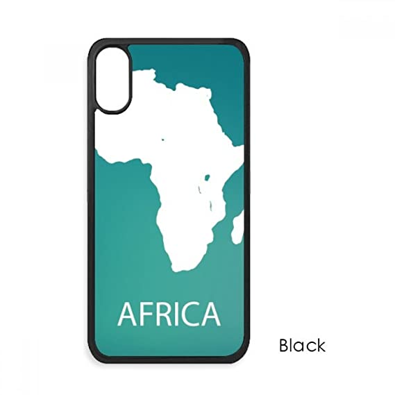 Africa Continent Outline Silhouette Map For IPhone X Cases Phonecase Apple  Cover Case Gift