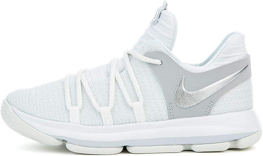 Contribuyente Abastecer calcetines  Nike KD 10 Preschool 918364 100 White (1.5y): Amazon.ca: Shoes & Handbags