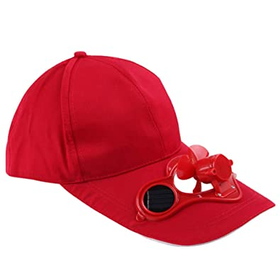 meilleur fournisseur mieux choisir magasins d'usine Ogquaton Camping de qualité supérieure avec Casquette de Baseball avec  Ventilateur Solaire, Casquette de Ventilateur de Refroidissement