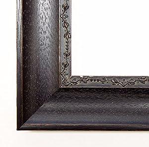 Bilderrahmen Mareis U2013 Ebony Black/Brown With Textured 4.0, Empty Frame  Without Glass, Wood, Black, DIN A1 (59,4 X 84,1 Cm)