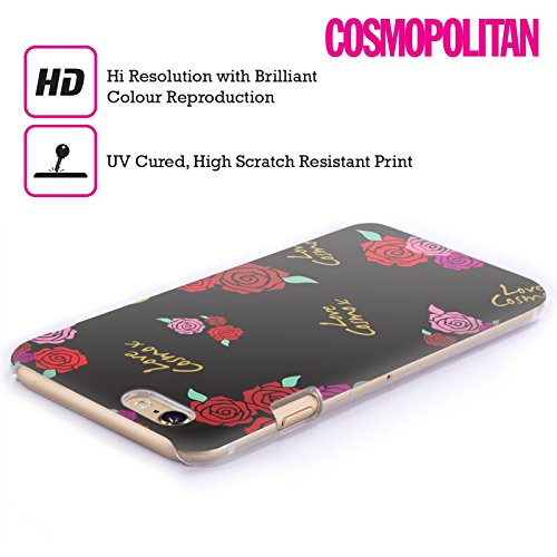 Official Cosmopolitan Roses Love Cosmo Hard Back Case for Apple iPhone 4 / 4S