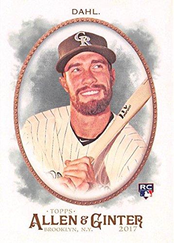 2013 Topps Heritage Minor League Edition Black//96 #3 David Dahl Rookie Card