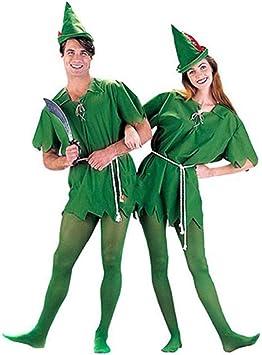 hengGuKeJiYo Disfraz de Peter Pan para niños Adultos Disfraz de ...