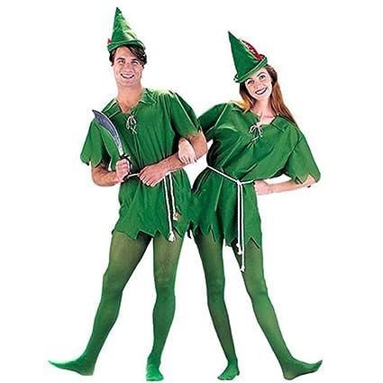 hengGuKeJiYo Disfraz de Peter Pan para niños Adultos Disfraz ...