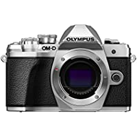 Olympus OM-D E-M10 Mark III camera body (silver), Wi-Fi enabled, 4K video