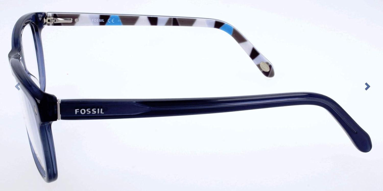 Fossil Brillengestelle FOS 6052 Rechteckig Brillengestelle 53 Blau