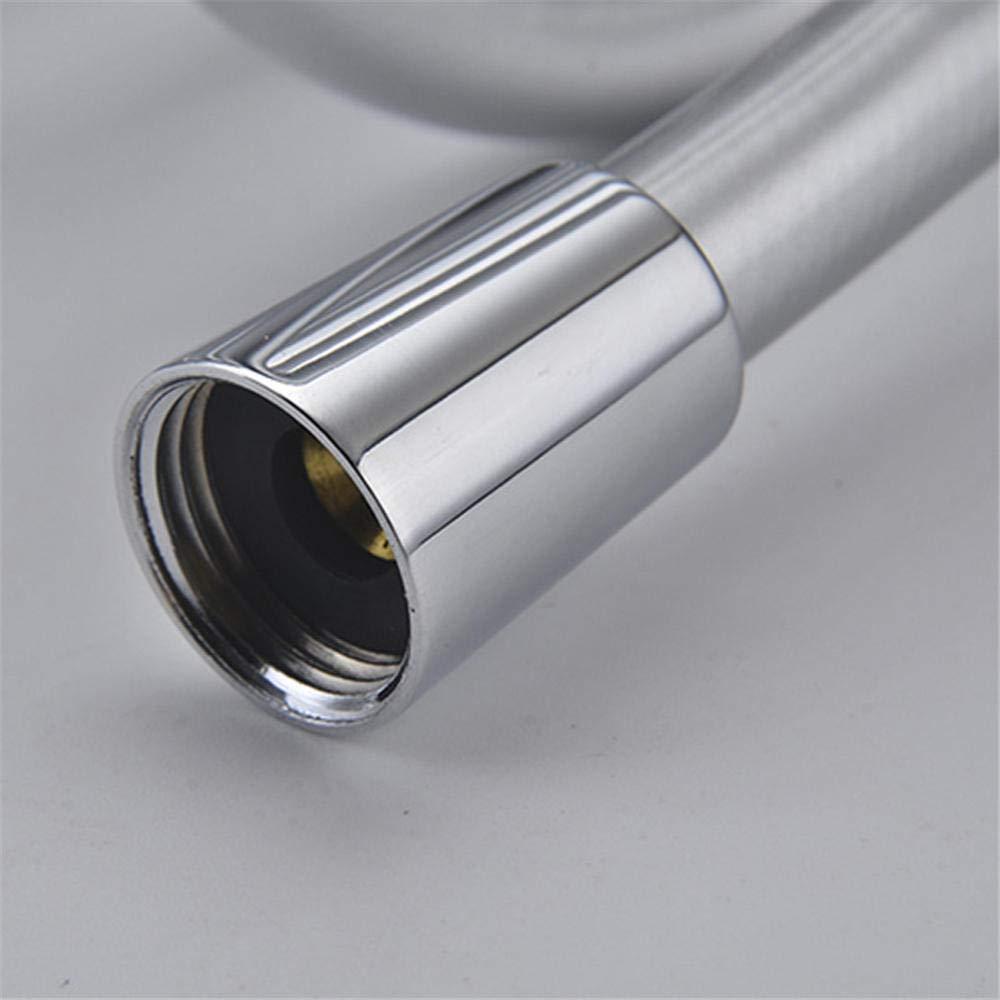 Tuyau de douche Tuyau de douche flexible de douche dh/ôtel Tuyau de douche flexible Tuyau de douche lisse en acier inoxydable haute pression 2m