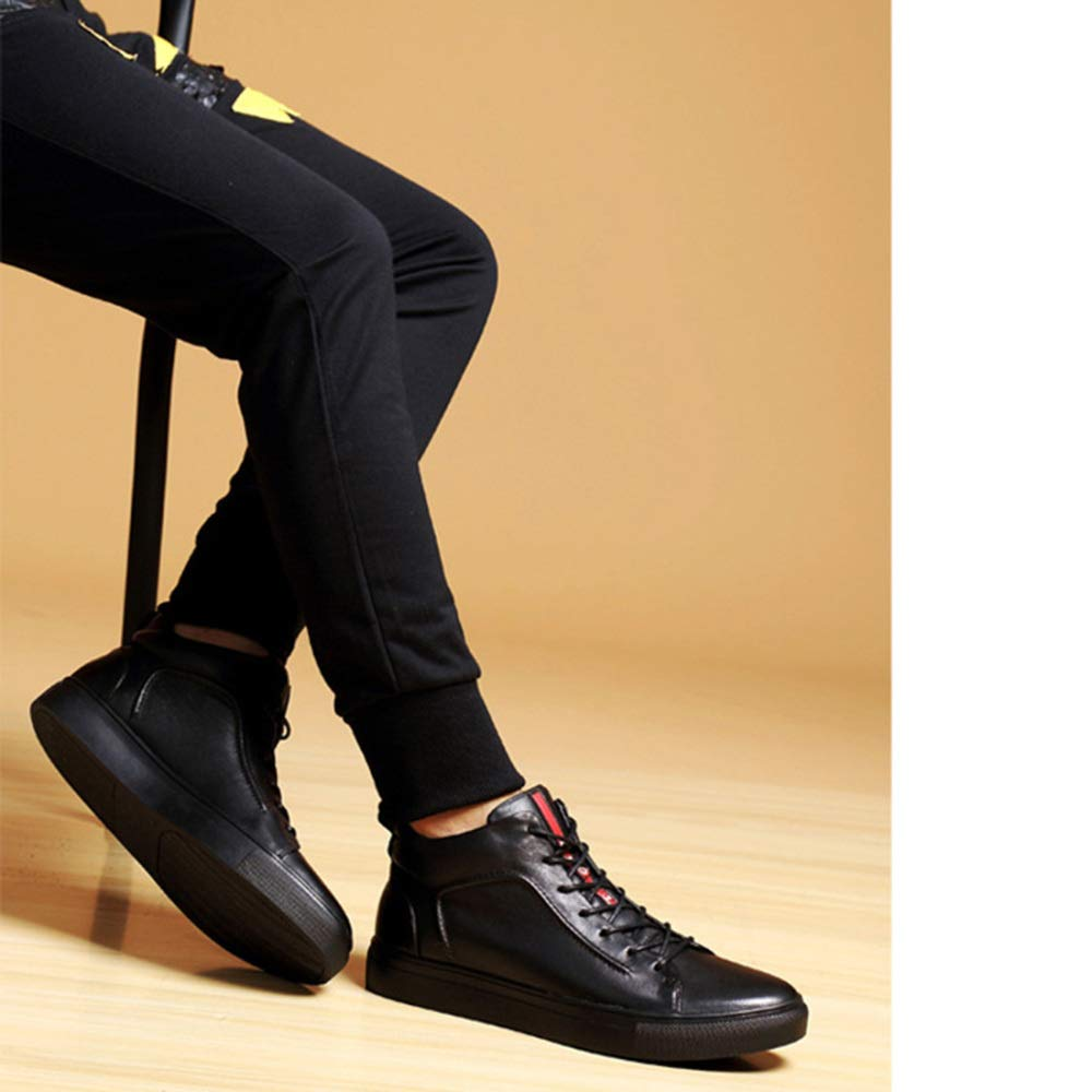 Herren Business Casual Martin Schuhe Derby Schuhe Warm Cotton Lace Martin Casual Stiefel 2 613581