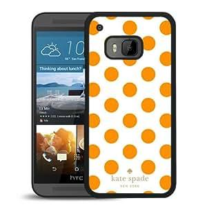 Unique Designed Kate Spade Cover Case For HTC ONE M9 Black Phone Case 300