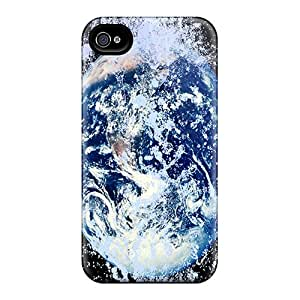 New Arrival Watery Planet Earth GGMGTZi75mnPxS Case Cover/ 4/4s Iphone Case