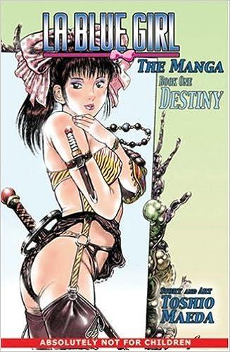Blue Girl: The Original Manga: Destiny (LA Blue Girl ...