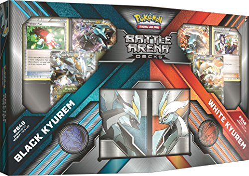 Pokemon TCG Battle Arena Decks Black Kyurem vs. White Kyurem Card Game