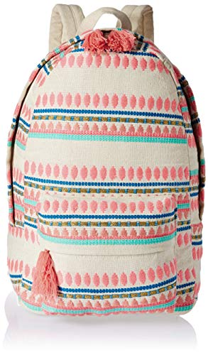 Kids Embroidered Backpacks (Studio99 Women Backpack Boho Canvas Bag-Embroidered School, College, Teens, for Ladies, Teens, Girls (18 x 14 x 6