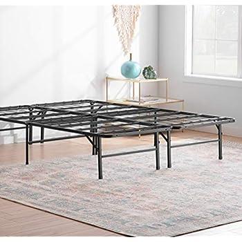 Amazon Com Linenspa 14 Inch Folding Metal Platform Bed