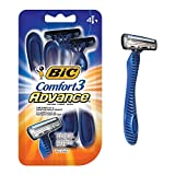 BIC Comfort 3 Advance Disposable Razor, Men, 4-Count - Best Reviews Guide