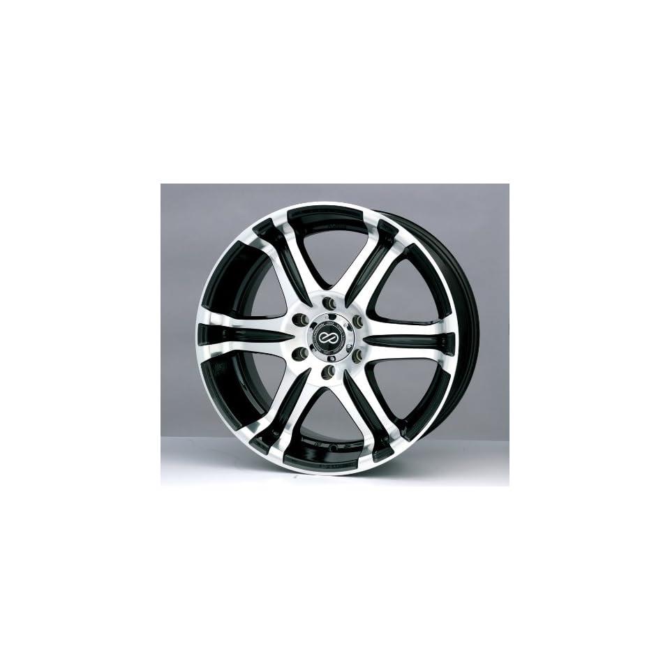 18x8.5 Enkei ETS (Black / Machined) Wheels/Rims 6x135 (436 885 9535BKM)