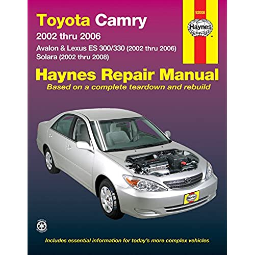 toyota avalon owner manual amazon com rh amazon com toyota camry 2002 user manual pdf 2002 toyota camry solara owners manual