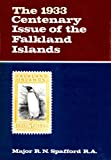 Front cover for the book 1933 Centenary Issue of the Falkland Islands by Ronald N Spafford