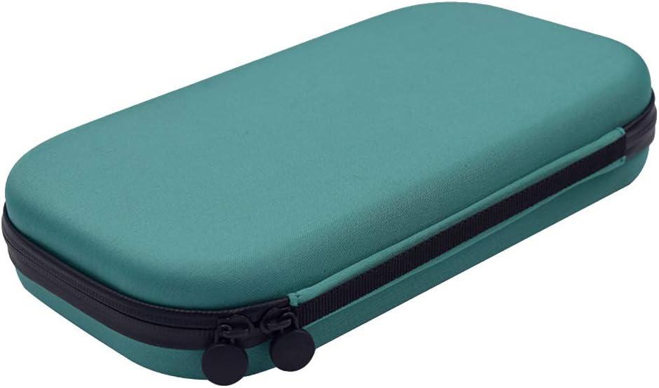 Stethoscope estuches, estetoscopio rígido EVA caja de almacenamiento | fundas de transporte protectoras | accesorios de viaje para médicos enfermeras, color verde