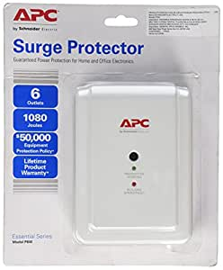 APC Canada P6W 6 Outlet, Wall Mount, Phone