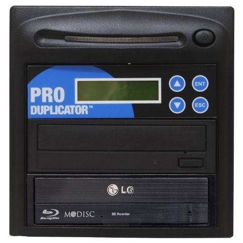 Produplicator 1 to 1 Blu-ray BD BDXL M-Disc CD DVD Duplicator (with USB Connection and Nero Essentials Burning Software)