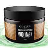 OLAXER SC007 Natural Mineral Mud Mask Clay Mask, Blackheads and Acne Remover, Pore Minimizer and Skin Rejuvenating, 7.05 oz