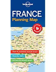Lonely Planet France Planning Map 1st Ed.