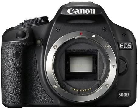 Canon EOS 500D - Cámara Réflex Digital 15.1 MP (Cuerpo ...