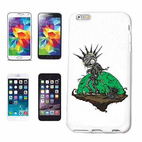 caja del teléfono iPhone 6+ Plus ZOMBI CON EL BEBÉ monstruo de la tierra PLANETA MOTORISTA CAMISETA zombi que camina club de la motocicleta MUERTO GOTHIC INTERRUPTOR DIXON camisa de la banda Caso du