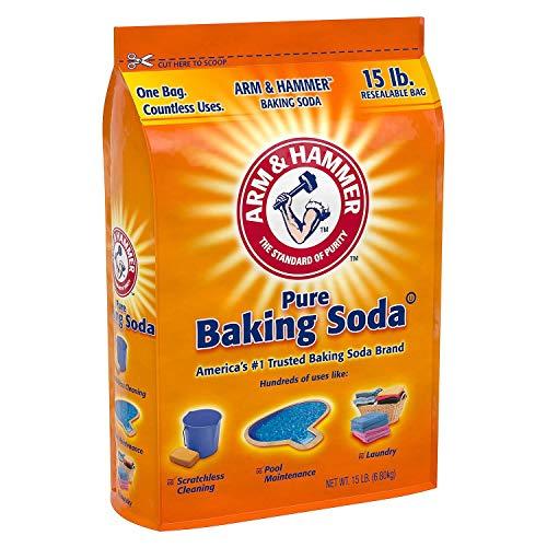 - Arm & Hammer Pure Baking Soda (15 lbs.)