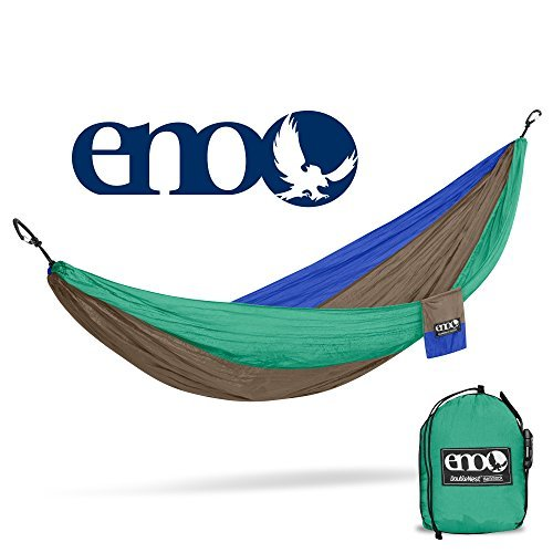 ENO - Eagles Nest Outfitters DoubleNest Hammock, Portable Hammock for Two for Outdoor Camping, Special Edition Colors, ATC