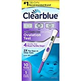 Clearblue Advanced ovulation 10 count for gift, newborn, baby, child