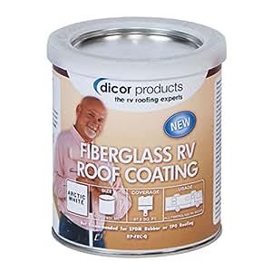 Amazon Com Dicor Rpfrcq Fiberglass Rv Roof Coating 1
